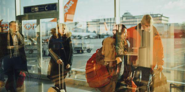 Bodyscanners in gebruik op vliegveld Düsseldorf
